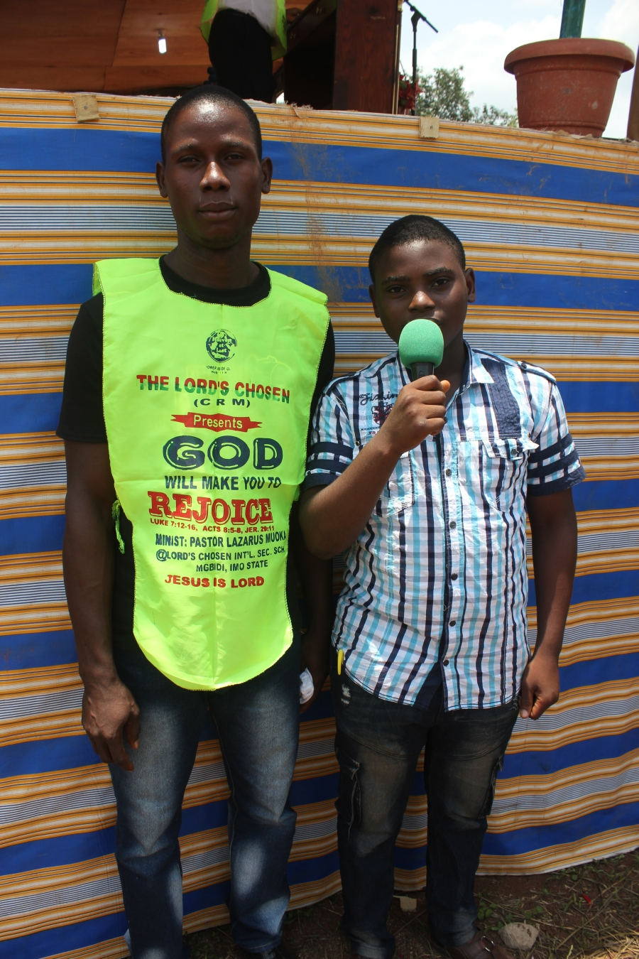 BRO AKUBUO DIVINE & BRO CHIDOZIE VICTOR-FRIEND DELIVERED FROM SPIRIT OF DEAF AND DUMB