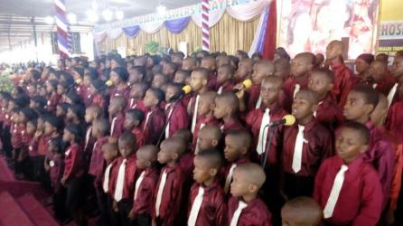 Children Choir Ministering 6