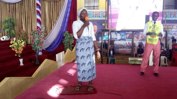 Sister Cynthia - Healed of Bed wetting