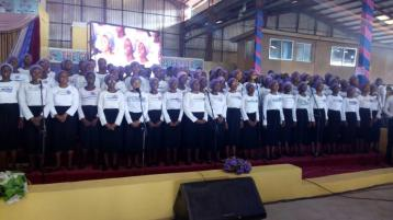 Youth Choir Ministering 2