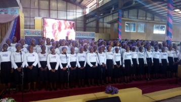 Youth Choir Ministering 5