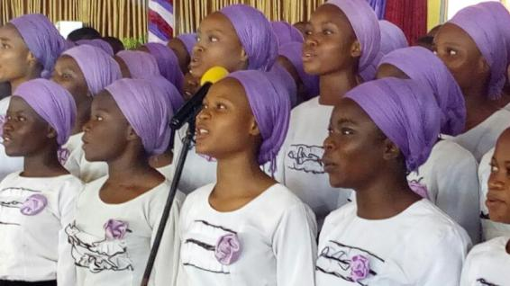 Youth Choir Ministering 7