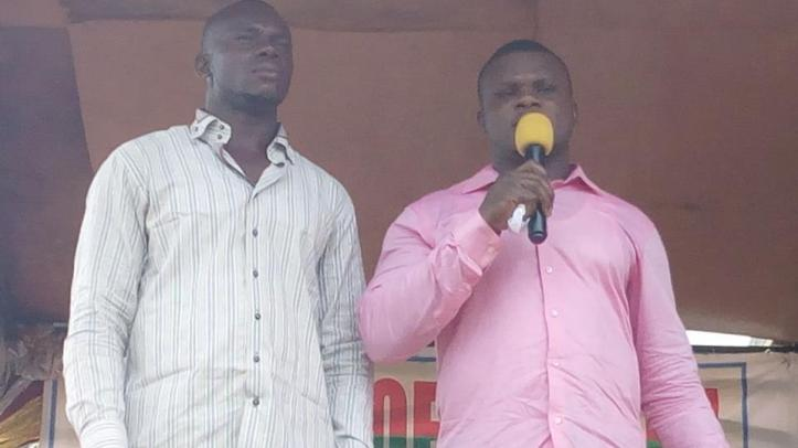 Bro Mmaduka also testified how he was healed of Tuberculosis