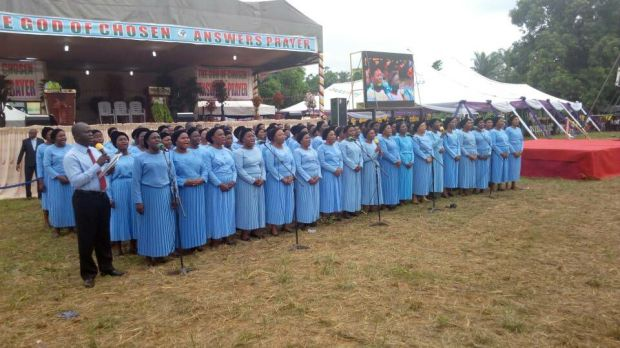 Central Choir Ministering