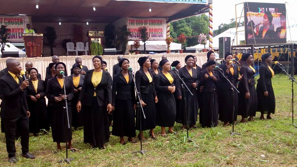 PRO group ministering to the congregation