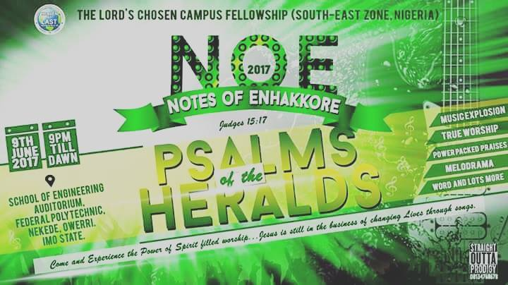 LIVE: NOE 2017 - PSALMS OF ENHAKKORE