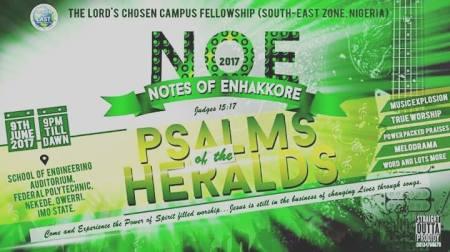 LIVE: NOE 2017 - PSALMS OF ENHAKKORE