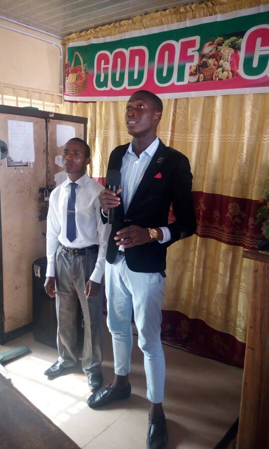 Bro Ewulu Henry is thanking God for healing his father. And how God has been faithful in his result