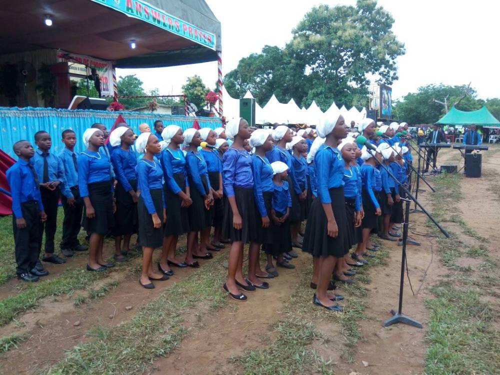 Children Choir ministration 2