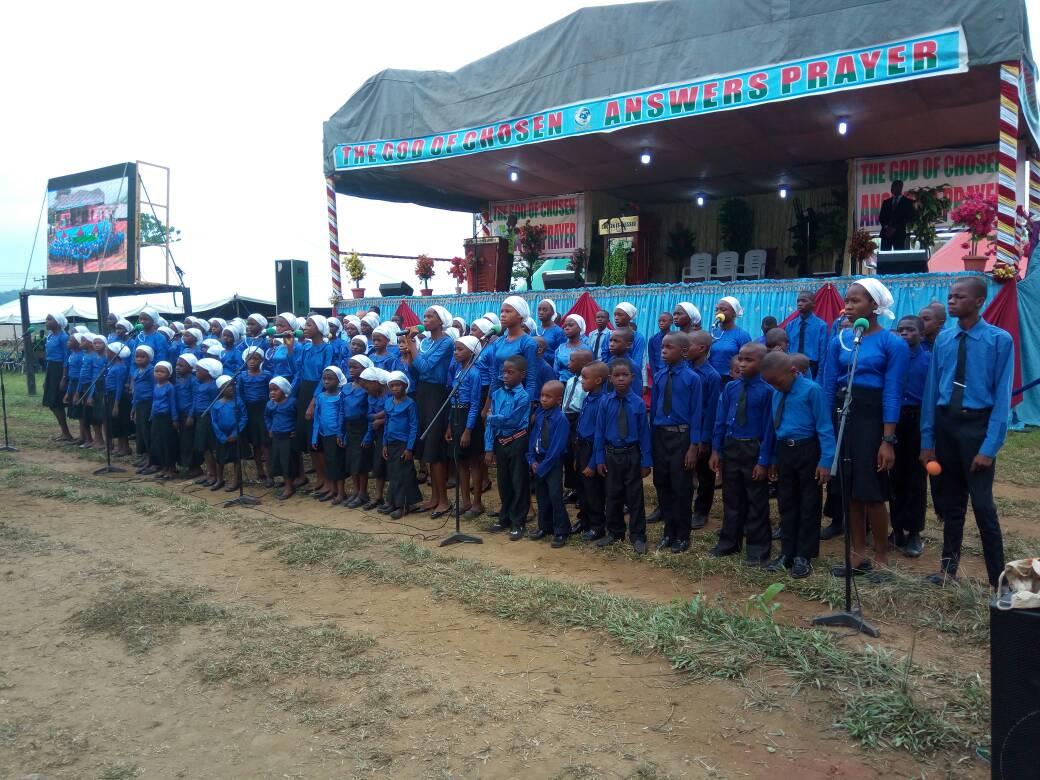 Children Choir ministration