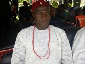 HRH Igwe Cyril Anochile - Traditional Ruler of Umuogbagu Ugwuoba