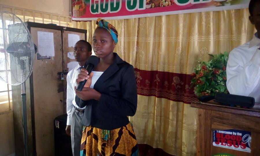 Sis grace Cyprian is thanking God for his goodness in her, financial favor, healing restoration and success of the program.