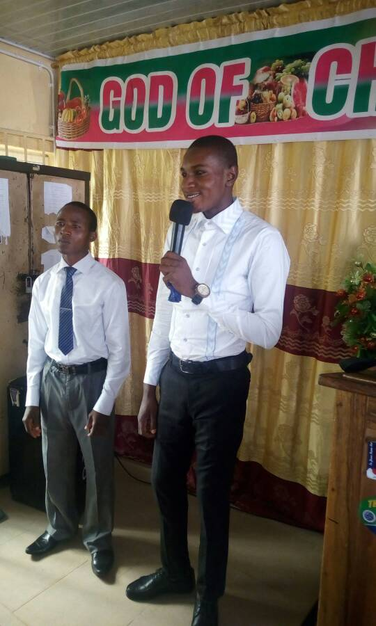 Bro Emmanuel Onuenugwu is thanking God for journey mercies. He thanks God for healing his aunt. He finally thanks God for the past semester results. He prays for the church Heaven at Last