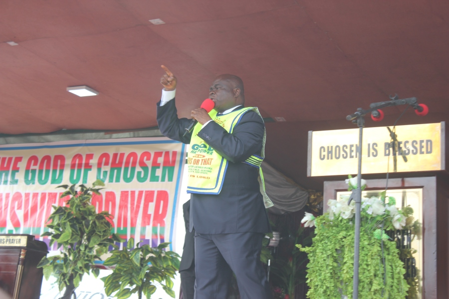 The General Overseer of The Lord's Chosen Charismatic Revival Movement, Pastor Lazarus Muoka